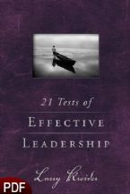 21 Tests of Effective Leadership (E-Book-PDF Download) by Larry Kreider