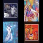 Special Greeting Card Set #1 (artwork greeting  cards) by Janice VanCronkhite