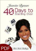 40 Days to Starting Over: No More Sheets Challenge (E-Book-PDF Download) By Juanita Bynum