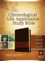 Chronological Life Application Bible NLT Tan/Brown Imitation Leather (Bible) by Tyndale House Publishers