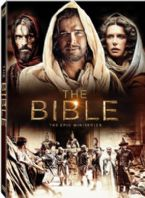 The Bible: The Epic Miniseries (DVD) from Executive Producers Roma Downey (Touched by an Angel) and Mark Burnett (The Voice, Survivor)