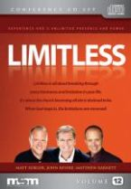 Limitless (6 DVD Teaching Set) by John Bevere, Matthew Barnett, and Matt Sorger