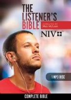 The Listener's Bible NIV: Complete Bible - MP3 - 1 Disc (MP3 Bible) by Max McLean