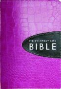 CAmplified Everyday Life Bible-Pnk/Expresso Bond (bible) by Joyce Meyer - Click To Enlarge