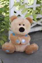 Plush-Prayer Bear (Toy) by Catcus Game Design