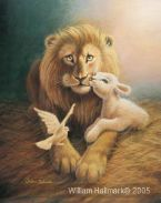 Harmony (Prophetic Print- Size 8 X 10 with white boarder) by William Hallmark
