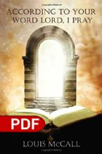 According to Your Word Lord, I Pray (E-Book PDF Download) by Louis McCall