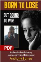 Born To Lose But Bound To Win (E-Book PDF Download) By Anthony Burrus
