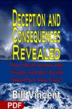 Deception And Consequences Revealed (E-Book PDF Download) By Bill VIncent