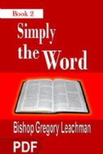 Simply The Word 2 (E-Book PDF Download) By Gregory Leachman