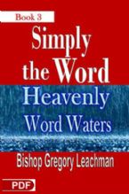 Simply The Word 3 (E-Book PDF Download) By Gregory Leachman
