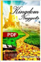 Kingdom Nuggets (E-Book PDF Download) By Matthew Payne