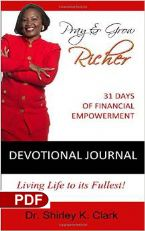 Pray And Grow Richer Devotional Journal (E-Book PDF Download) By Shirley Clark