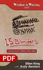 15 Blunders: Common Errors Writers Often Make (The Wisdom in Writing Series E-book PDF) by Ellen King and Andy Sanders