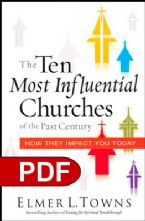The Ten Most Influential Churches of the Past Century: And How They Impact You Today (E-Book PDF Download) by Elmer Towns