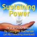 CSustaining Power (MP3 Teaching Download) by Georgina Buchanan - Click To Enlarge