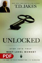 Unlocked: Step into Your Next-Level Moment (e-Book PDF Download) by T.D. Jakes