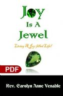 CJoy Is a Jewel: Living a Joy-Filled Life (e-Book PDF Download) by Carolyn Anne Venable - Click To Enlarge