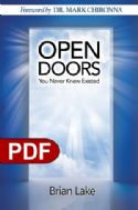 COpen Doors You Never Knew Existed (e-book PDF Download) by Brian Lake - Click To Enlarge
