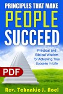 CPrinciples That Make People Succeed (e-Book PDF download) by Tchankio J. Noel - Click To Enlarge