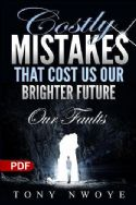 CCostly Mistakes That Cost Us Our Brighter Future   Our Faults (E-book PDF Download) - Click To Enlarge