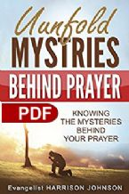 Unfold Mysteries Behind Prayer(Ebook PDF Download)