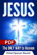 CJesus The Only Way To Heaven Meet Jesus The Son of God(EBook PDF Download) - Click To Enlarge
