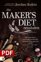 The Maker's Diet Revolution: The 10 Day Diet to Lose Weight and Detoxify Your Body, Mind, and Spirit (PDF Download) by Jordan Rubin