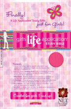 Girls Life Application Study Bible (Bible) By Livingstone