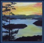 Orcas Island (Art Work) by Mike DeLorenzo