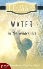 Water in the Wilderness (E-Book-PDF Download) By T.D. Jakes